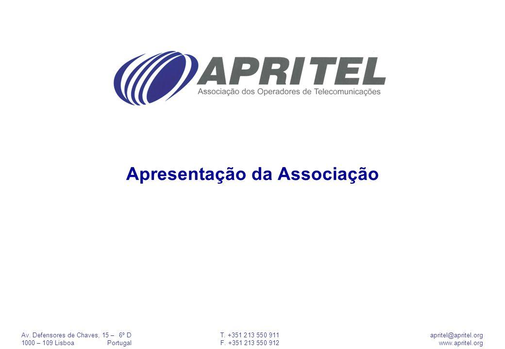 Apresentação da Associação