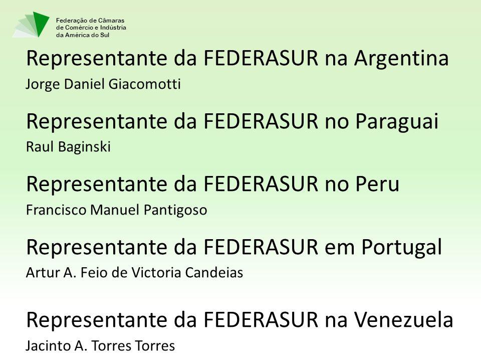 Representante da FEDERASUR na Argentina