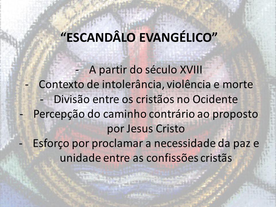 ESCANDÂLO EVANGÉLICO