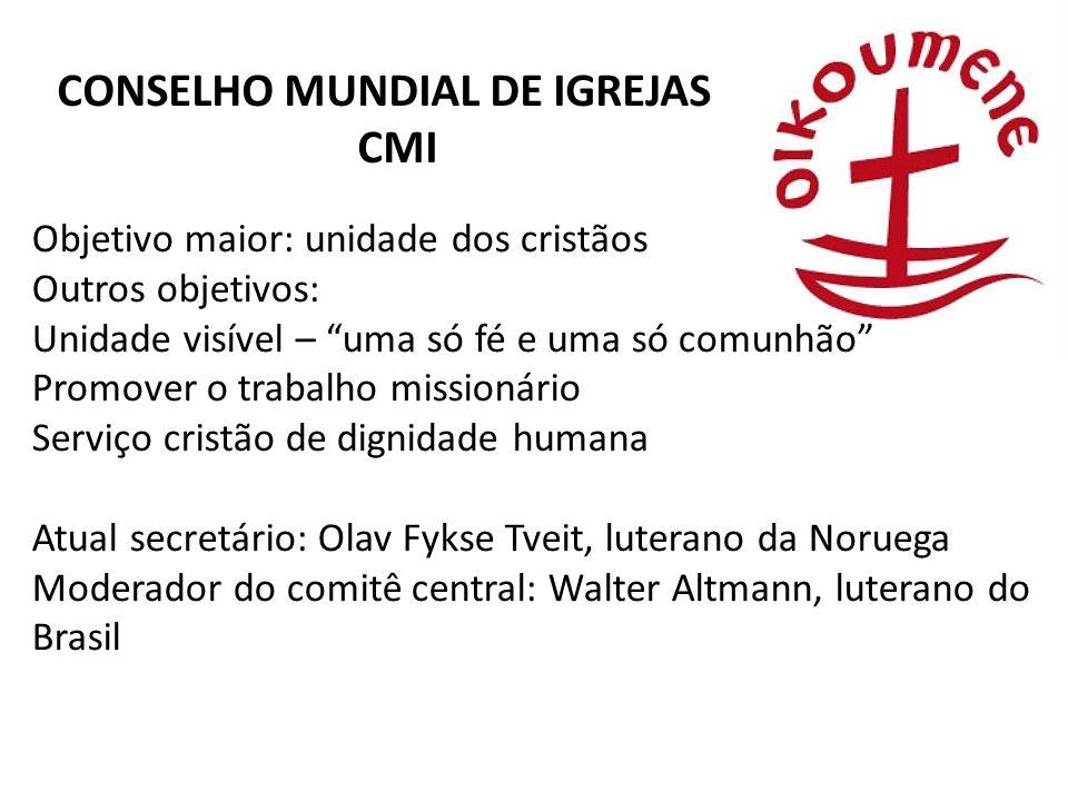 CONSELHO MUNDIAL DE IGREJAS CMI