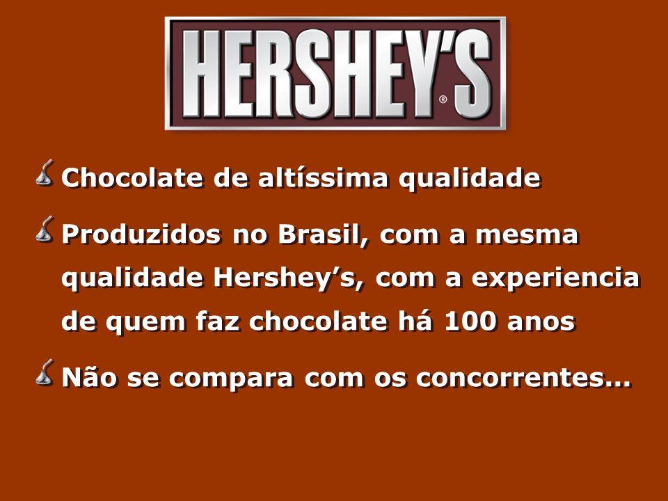 Chocolate de altíssima qualidade