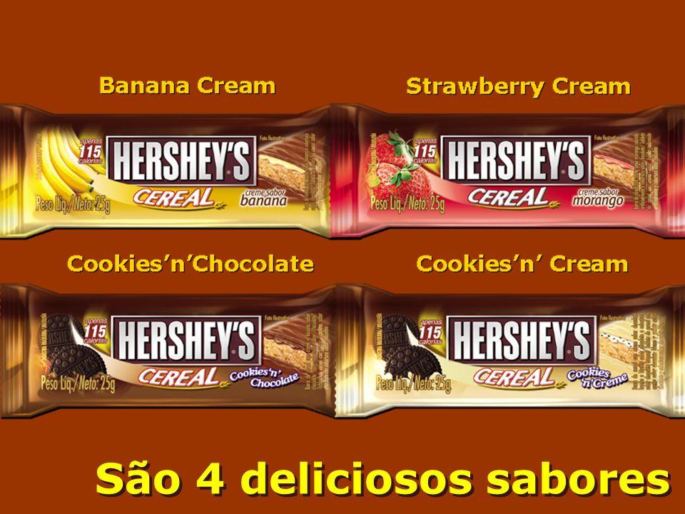 São 4 deliciosos sabores