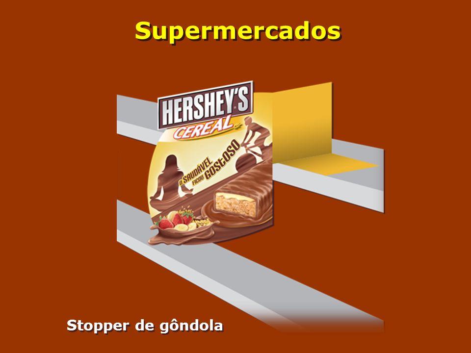 Supermercados Stopper de gôndola