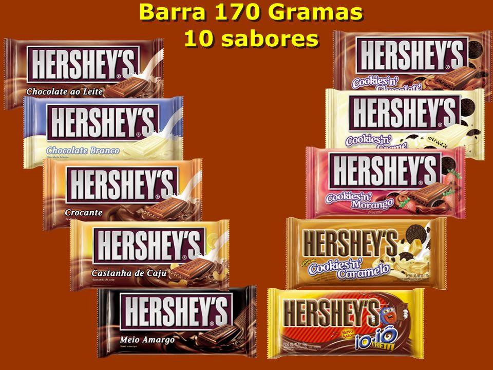 Barra 170 Gramas 10 sabores