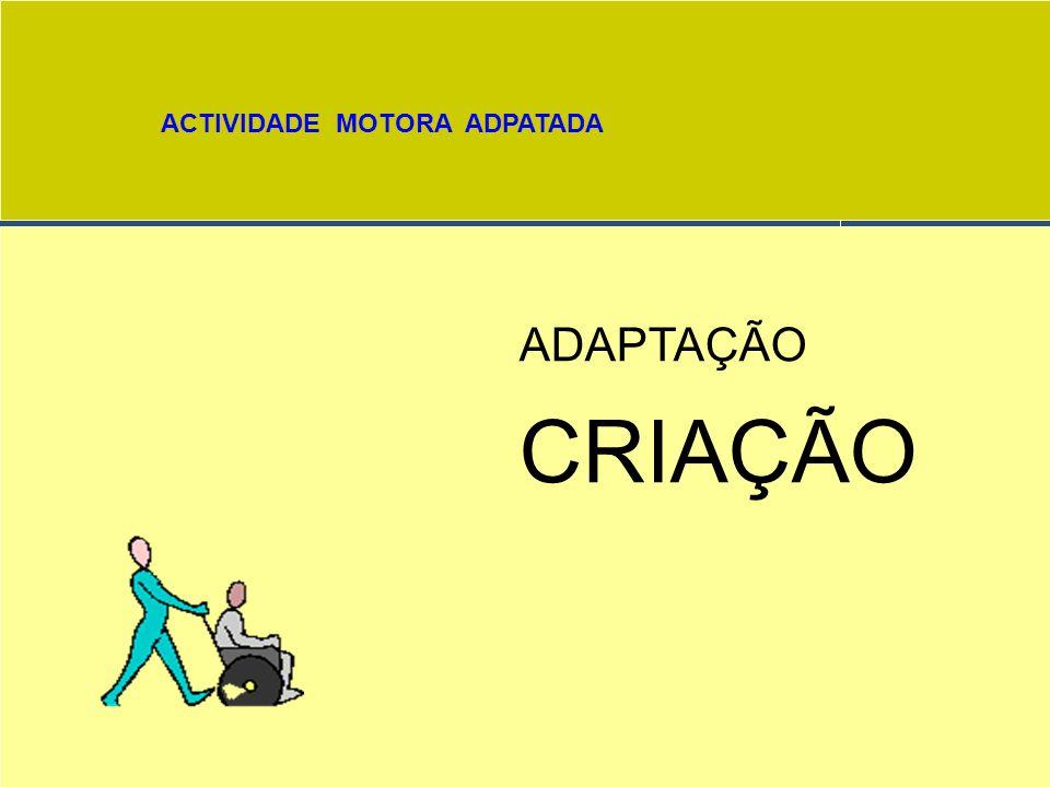 ACTIVIDADE MOTORA ADPATADA