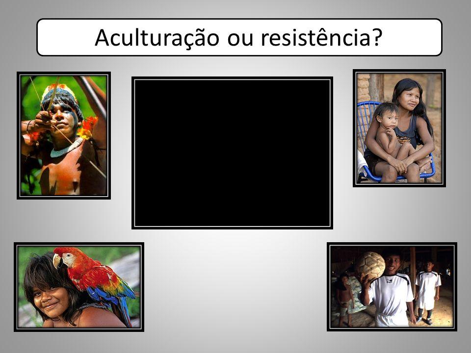Aculturação ou resistência