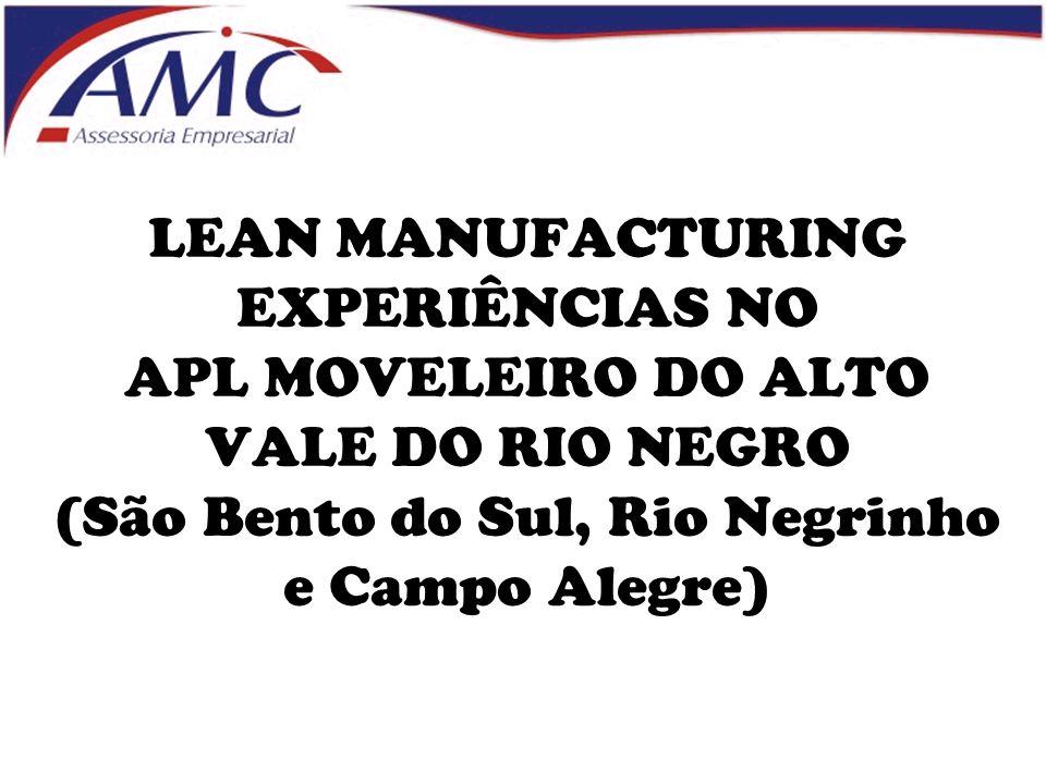 LEAN MANUFACTURING EXPERIÊNCIAS NO APL MOVELEIRO DO ALTO VALE DO RIO NEGRO (São Bento do Sul, Rio Negrinho e Campo Alegre)