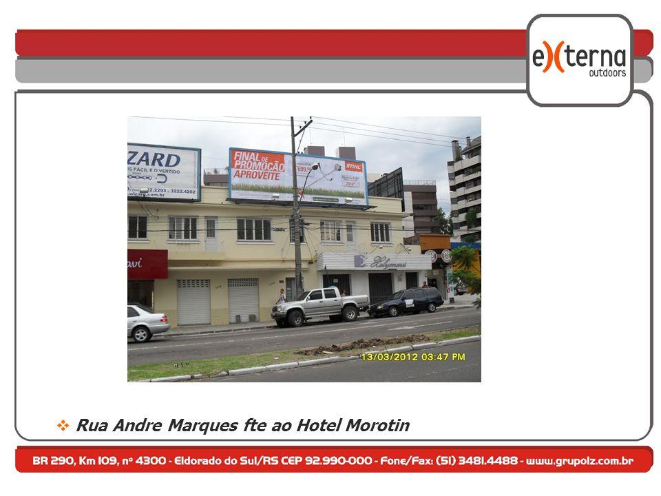 Rua Andre Marques fte ao Hotel Morotin