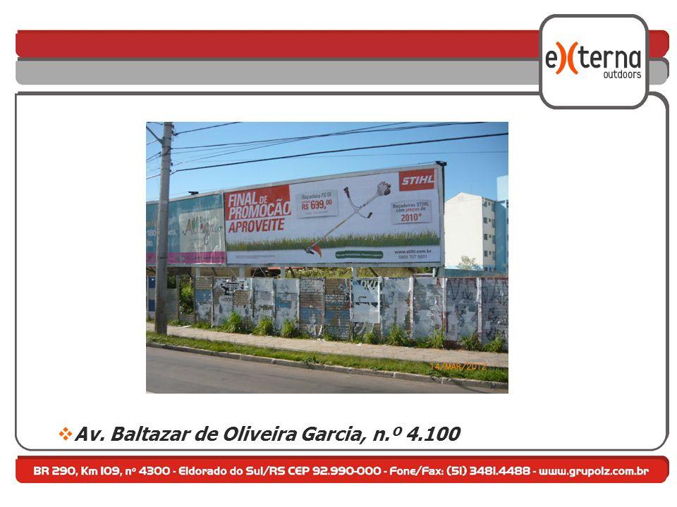 Av. Baltazar de Oliveira Garcia, n.º 4.100