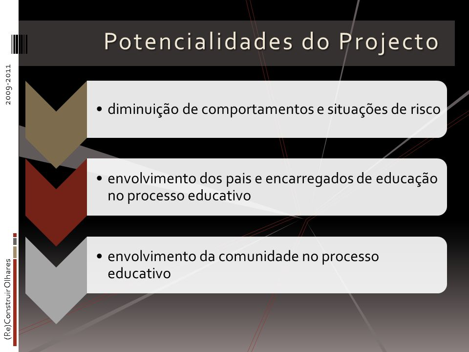 Potencialidades do Projecto