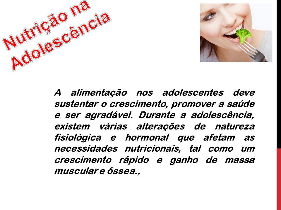 Nutrição na Adolescência