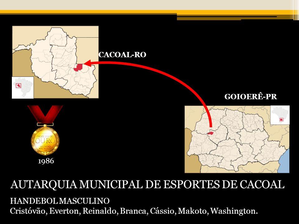 AUTARQUIA MUNICIPAL DE ESPORTES DE CACOAL