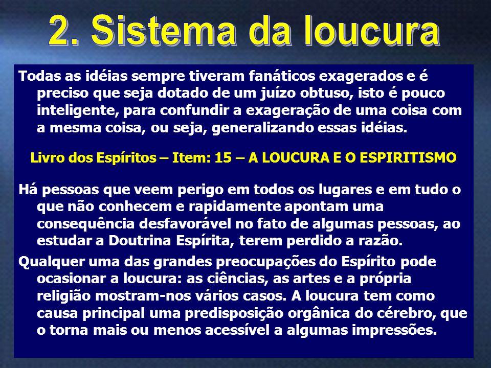 2. Sistema da loucura