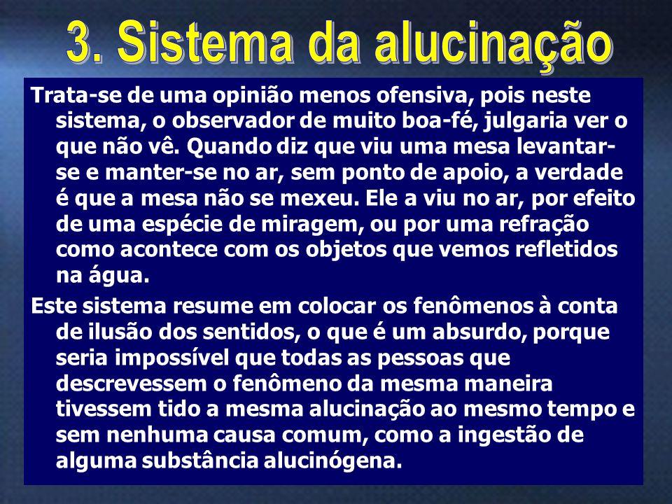3. Sistema da alucinação