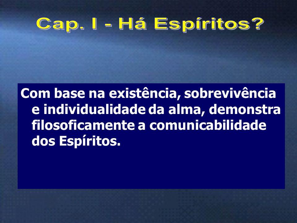 Cap. I - Há Espíritos.