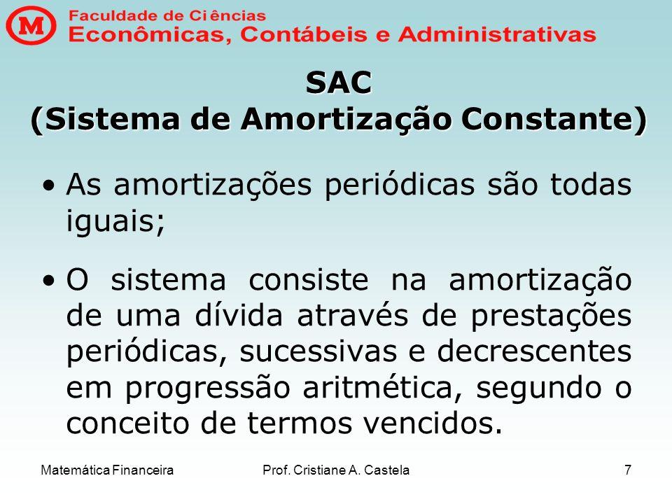 SAC (Sistema de Amortização Constante)