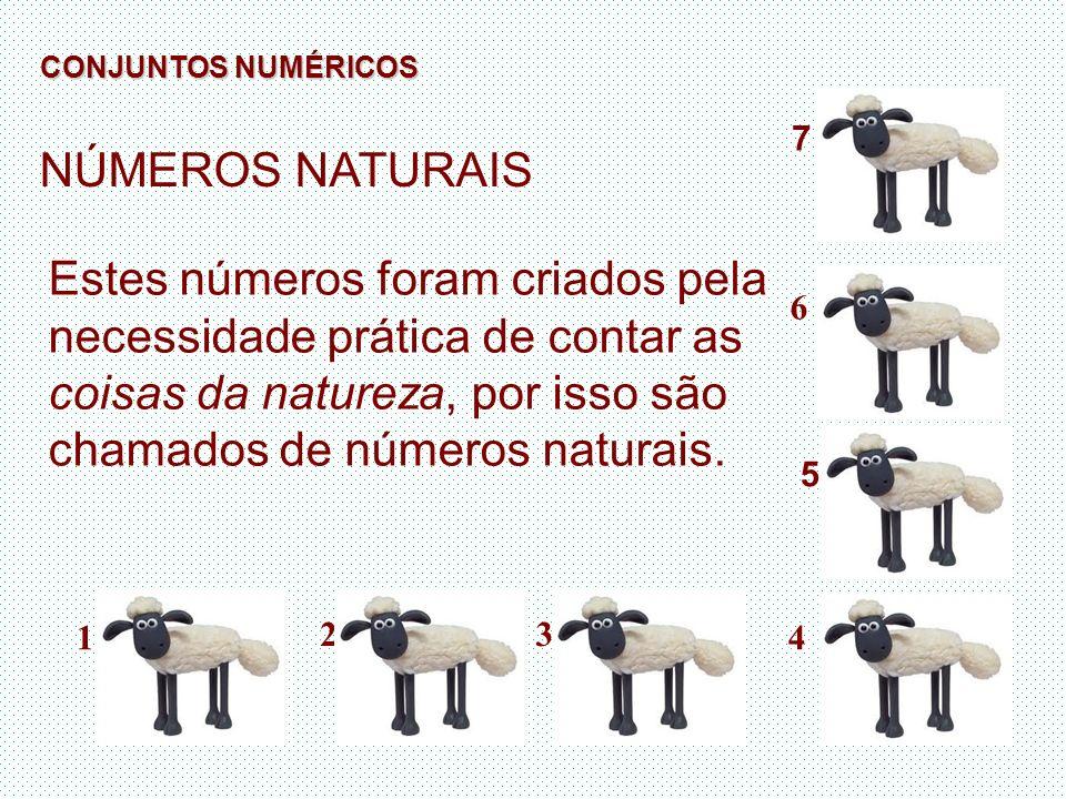 CONJUNTOS NUMÉRICOS 7. NÚMEROS NATURAIS.