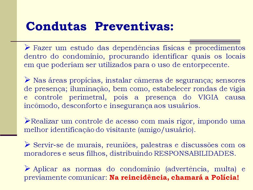 Condutas Preventivas:
