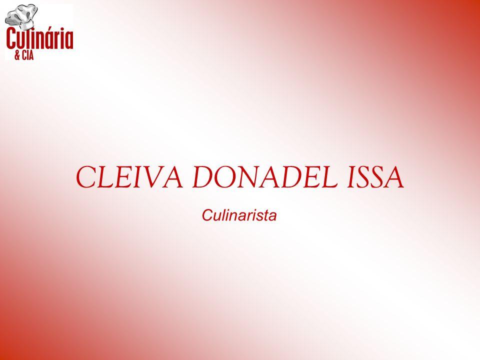 CLEIVA DONADEL ISSA Culinarista