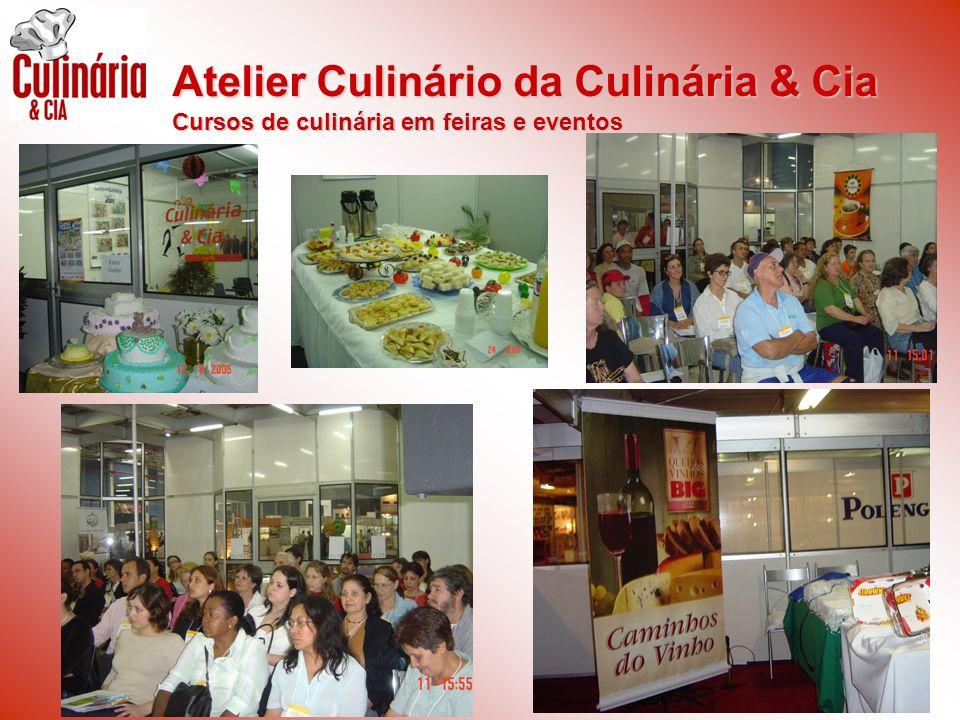 Atelier Culinário da Culinária & Cia