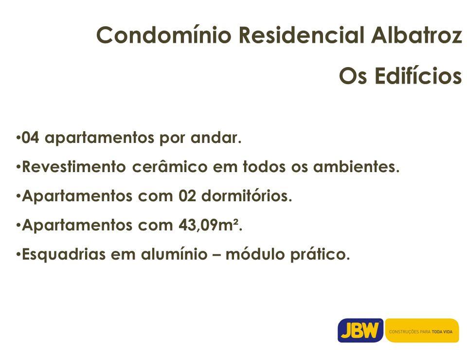 Condomínio Residencial Albatroz Os Edifícios