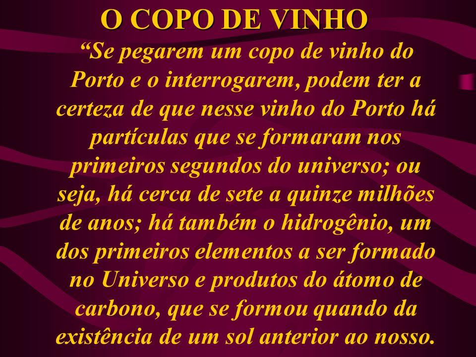 O COPO DE VINHO