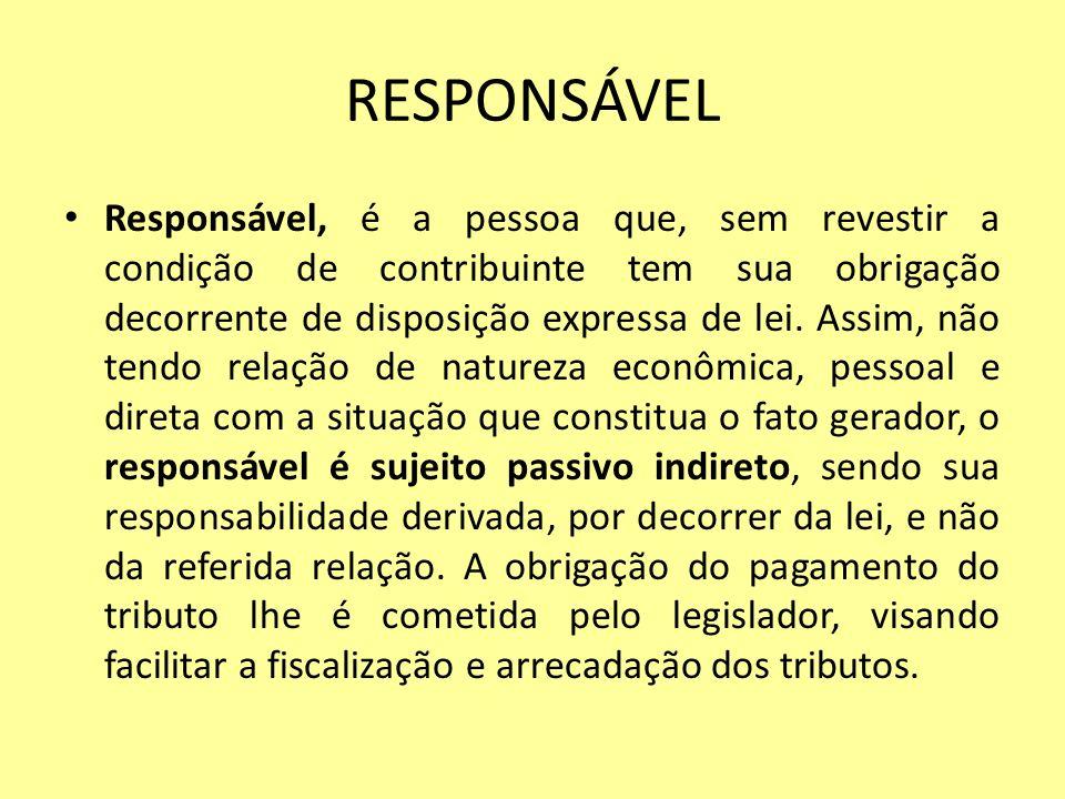 RESPONSÁVEL