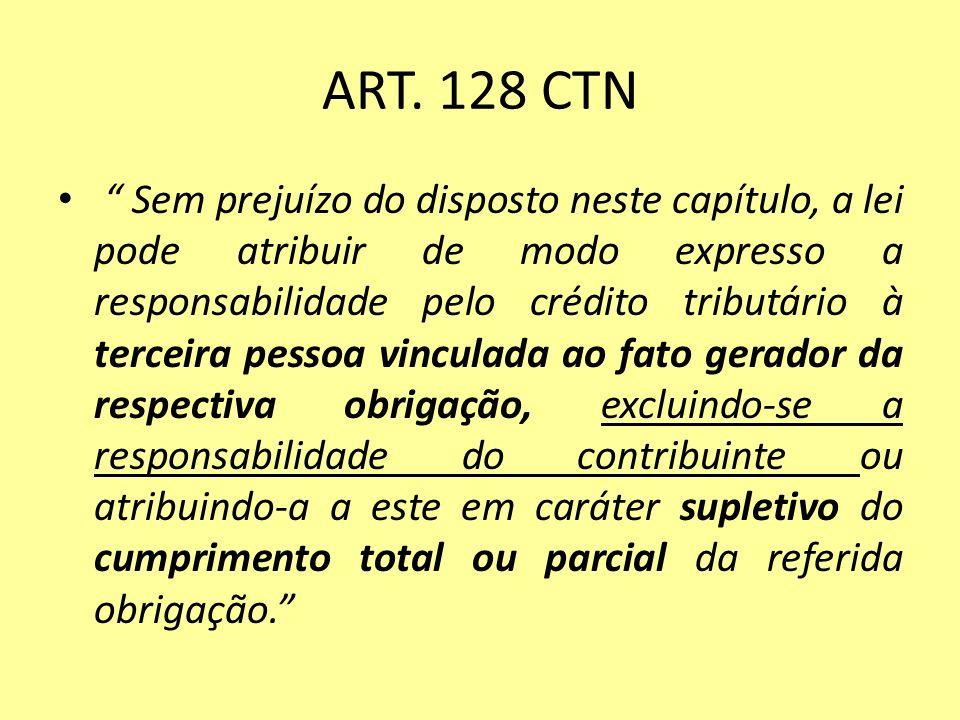 ART. 128 CTN