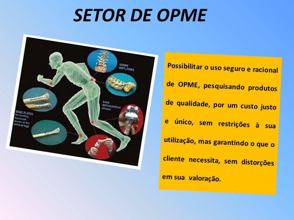 SETOR DE OPME