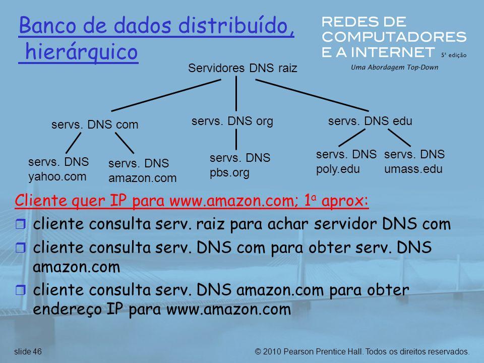 Banco de dados distribuído, hierárquico