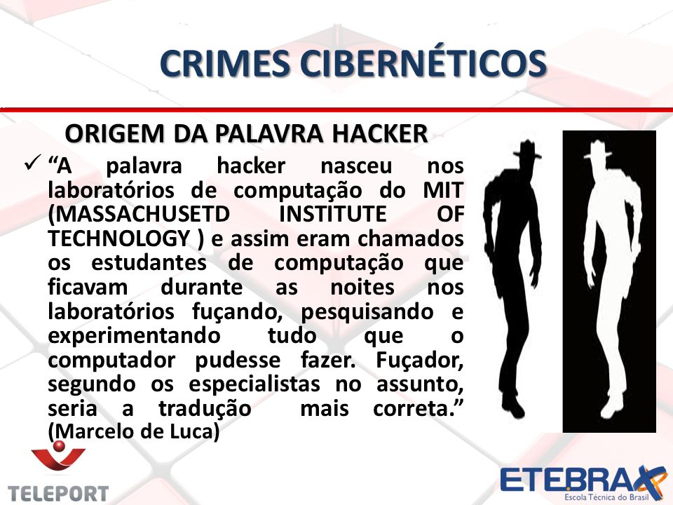 ORIGEM DA PALAVRA HACKER