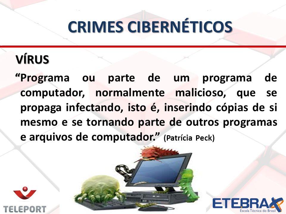 Crimes Cibernéticos VÍRUS