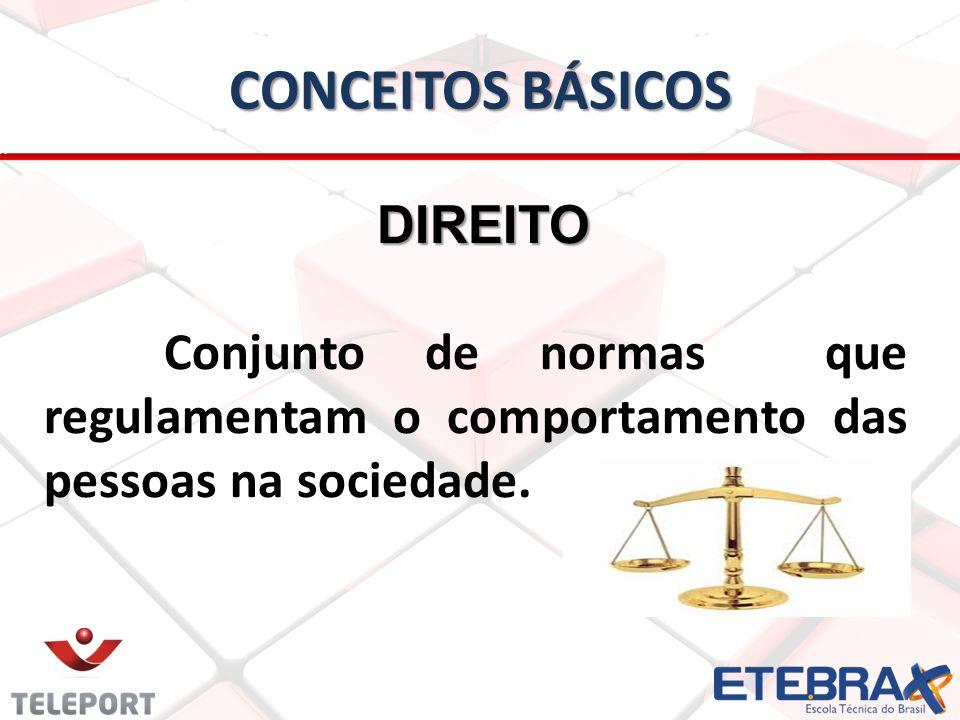 CONCEITOS BÁSICOS DIREITO