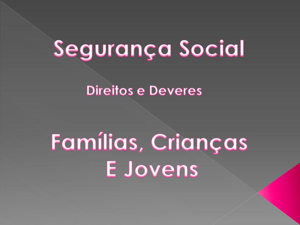 Segurança Social Famílias, Crianças E Jovens