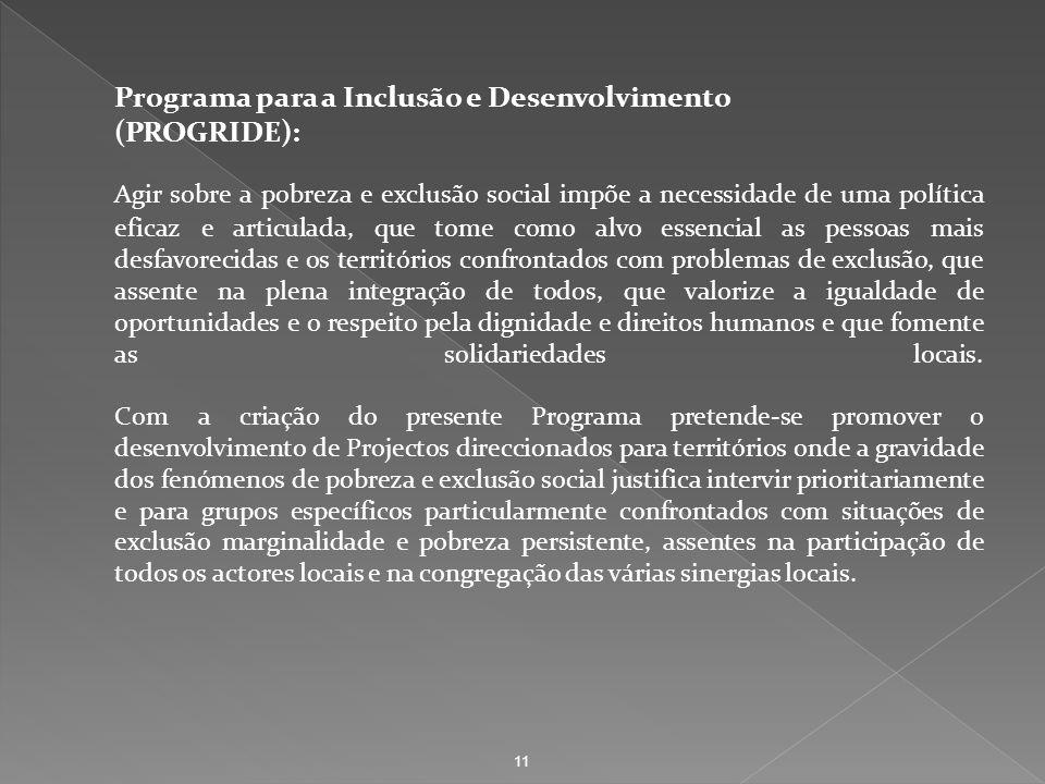 Programa para a Inclusão e Desenvolvimento (PROGRIDE):