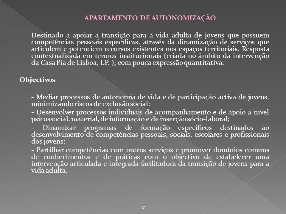 APARTAMENTO DE AUTONOMIZAÇÃO