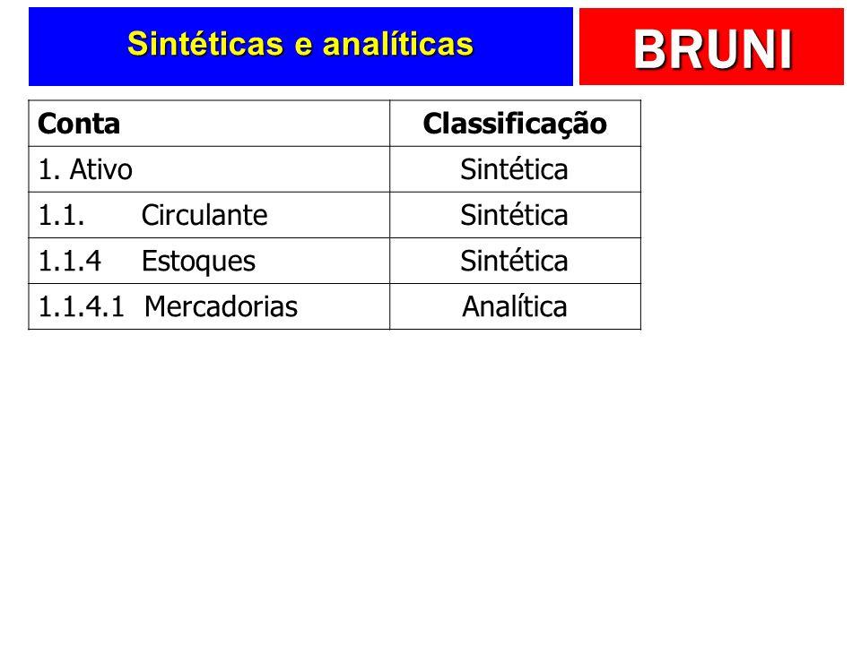 Sintéticas e analíticas