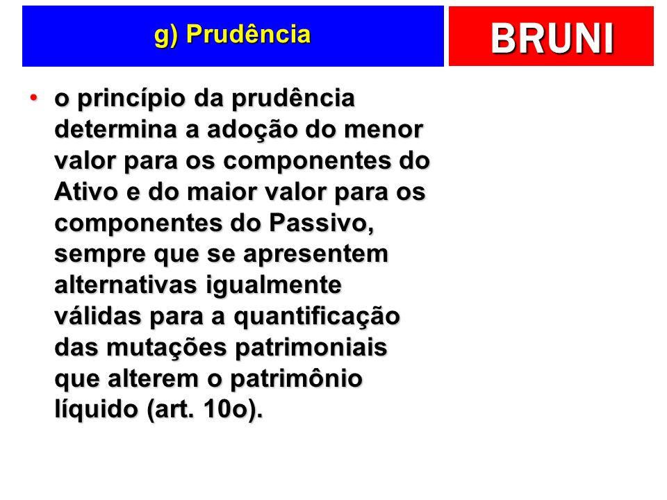g) Prudência