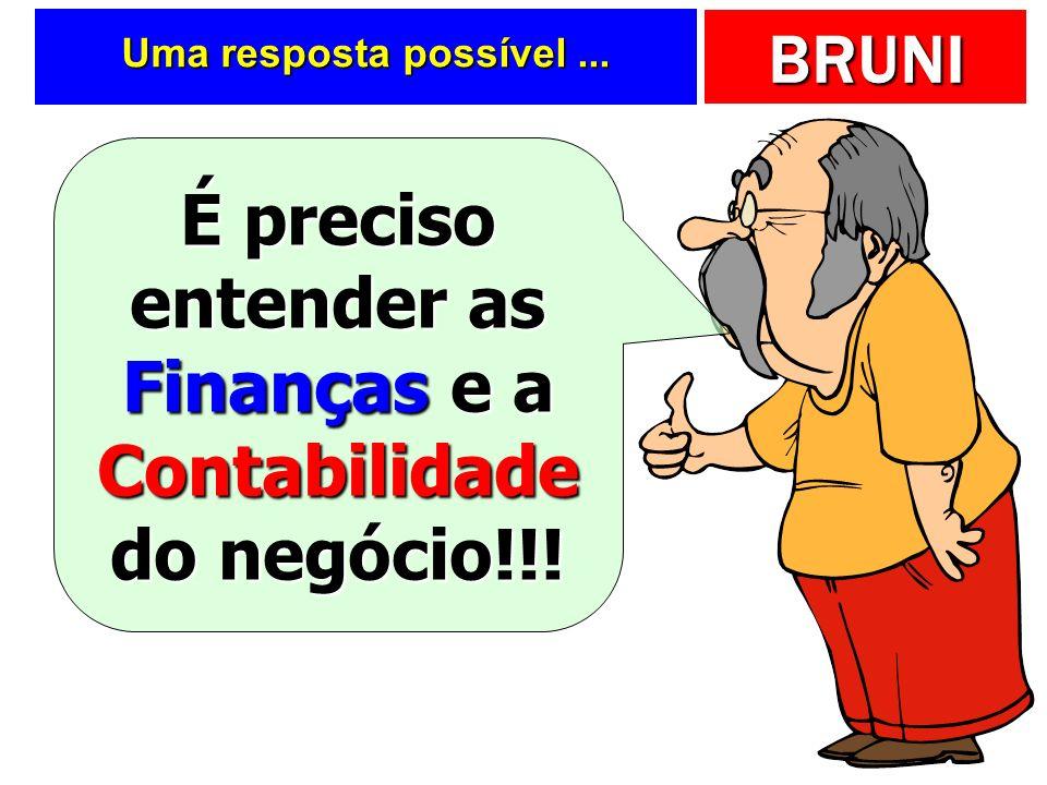 É preciso entender as Finanças e a Contabilidade do negócio!!!
