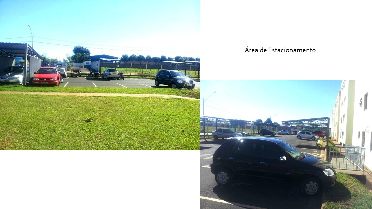 Área de Estacionamento