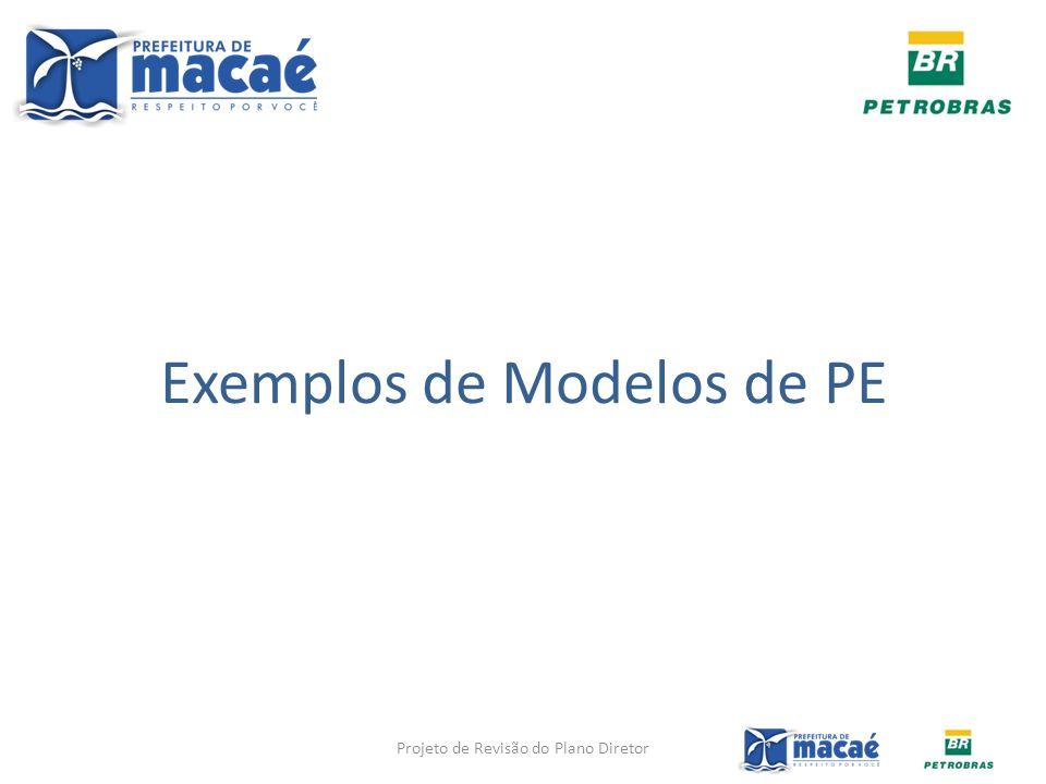 Exemplos de Modelos de PE