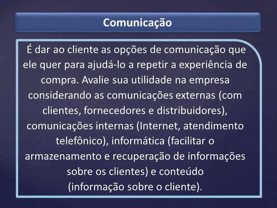 (informação sobre o cliente).