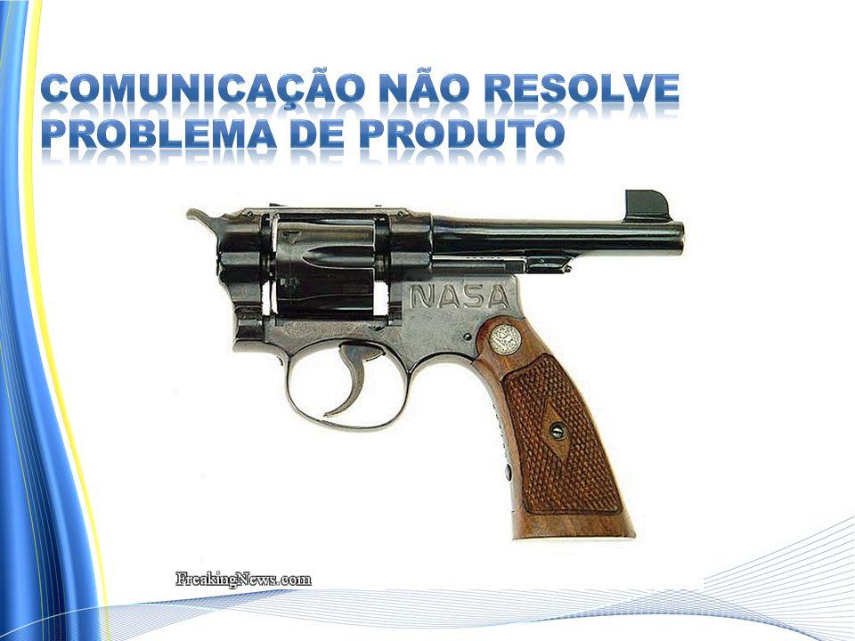 Comunicação NÃO RESOLVE problema de produto