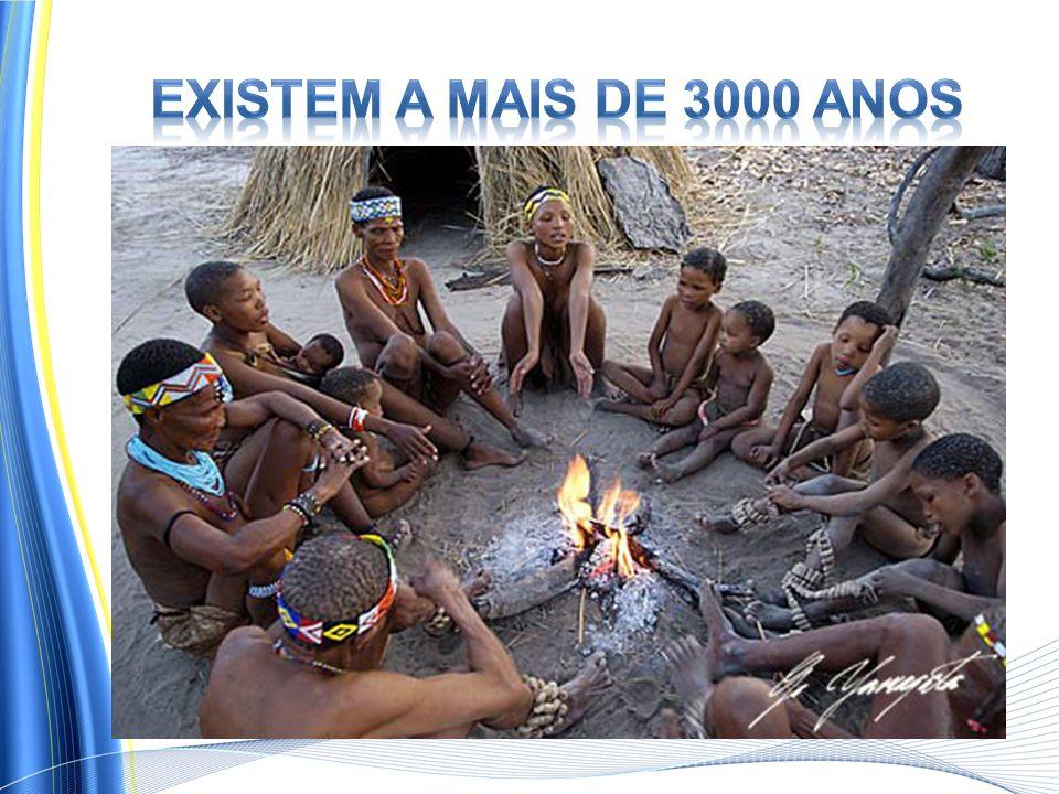 Existem a mais de 3000 anos