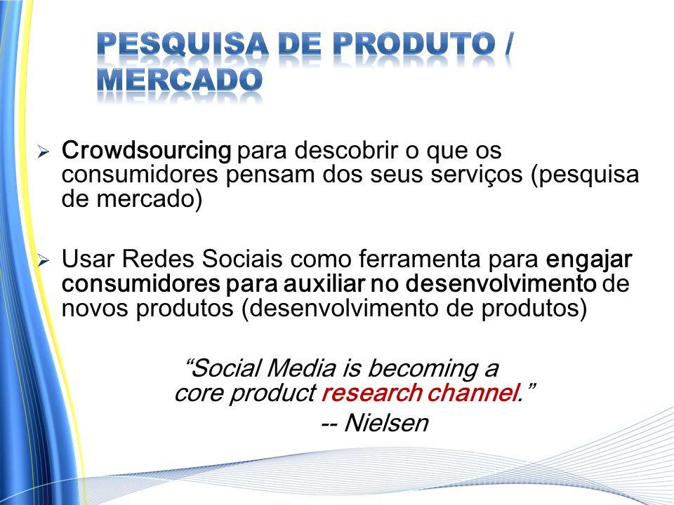 Pesquisa de Produto / Mercado