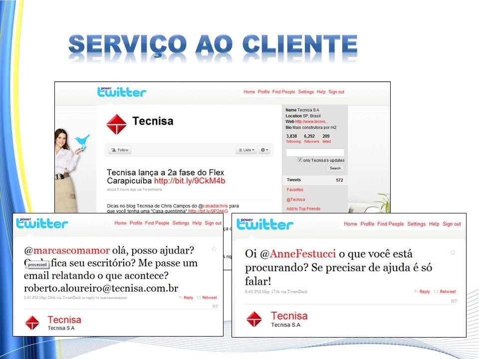 Serviço ao Cliente http://mashable.com/2009/09/11/banks-social-media/