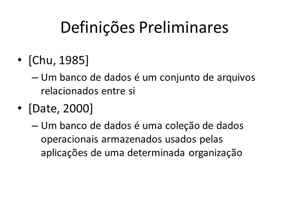 Definições Preliminares