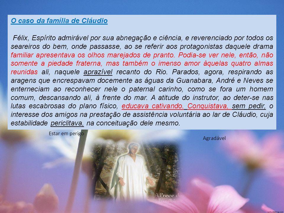 O caso da família de Cláudio