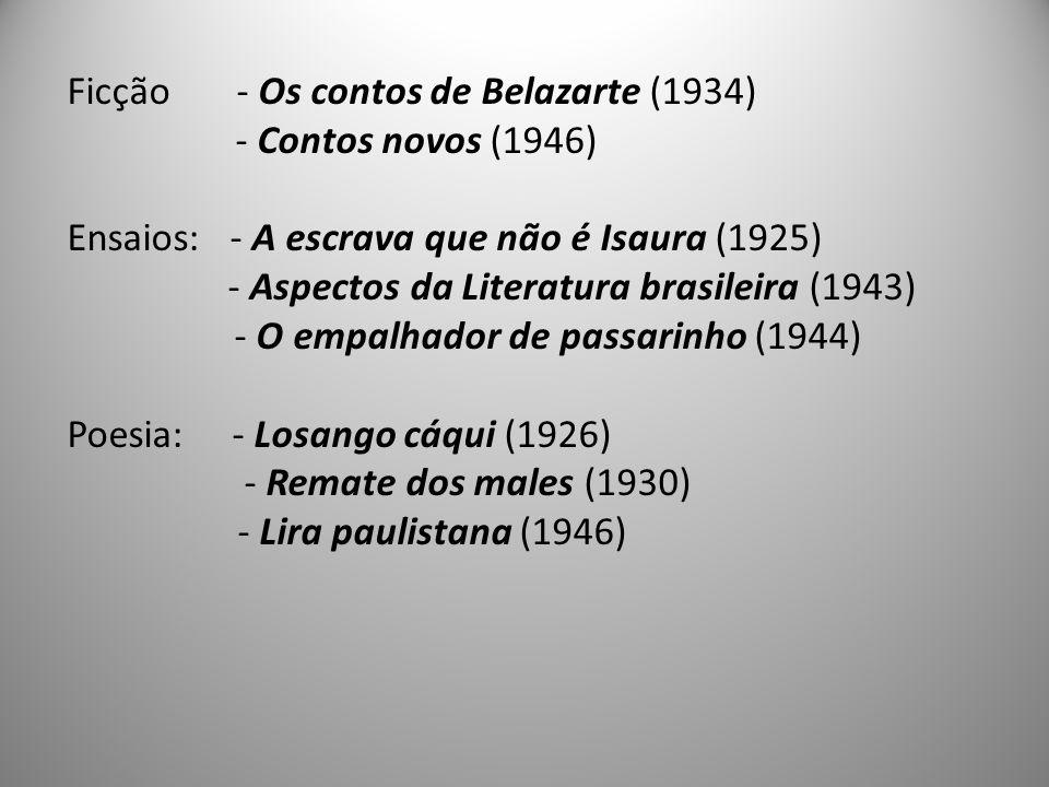 Ficção - Os contos de Belazarte (1934)