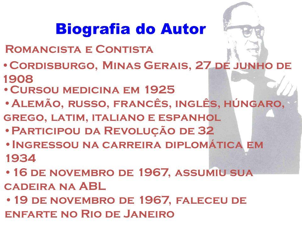 Biografia do Autor Romancista e Contista